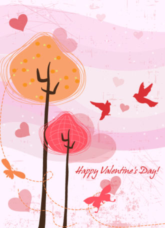 Colorful Background Vector Illustration Vector Illustrations tree