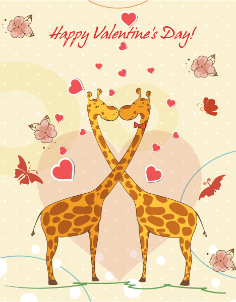 Valentine's Day Background Vector Illustration 17 11 2011 104