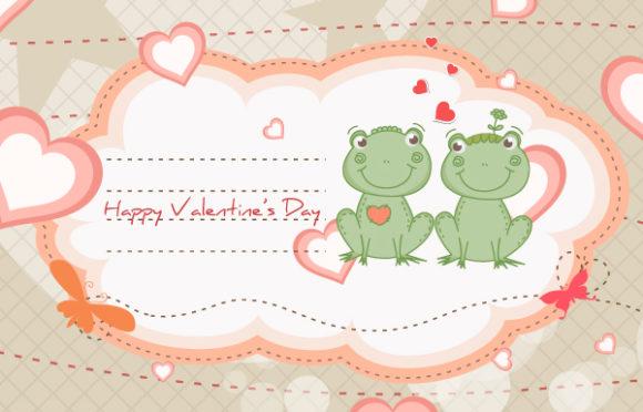 Bold Illustration Vector Illustration: Frogs In Love Vector Illustration Illustration 17 11 2011 105