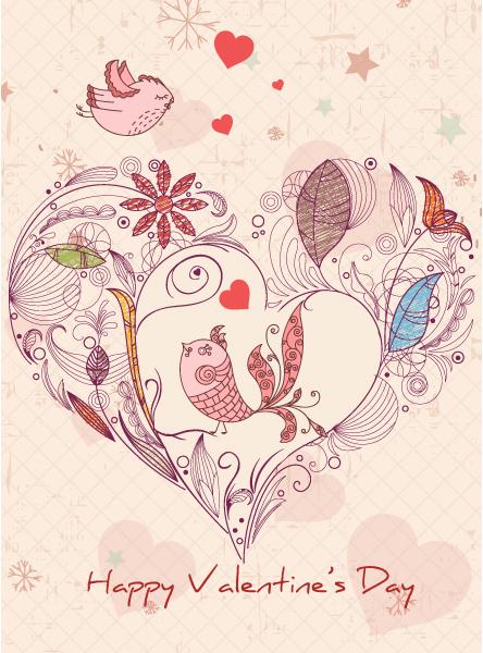 Love Vector Illustration: Birds In Love Vector Illustration Illustration 17 11 2011 107