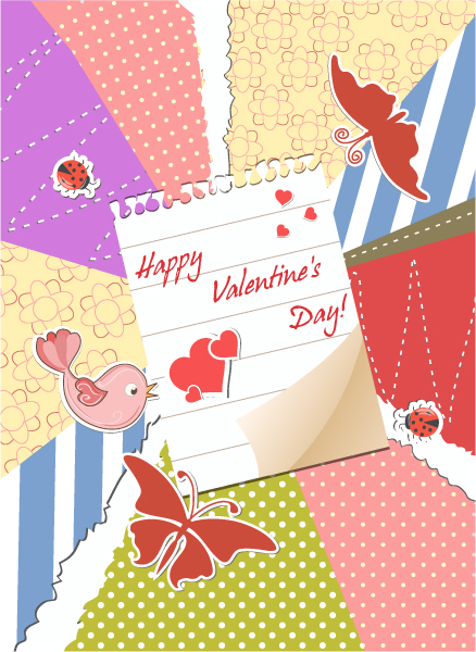 Vector Vector Artwork Valentines Day Background Vector Illustration 17 11 2011 112