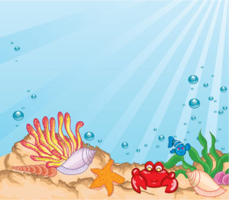 Cartoon Aquarium Vector Illustration Vector Illustrations vector