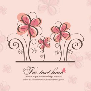 Vector Spring Floral Background Vector Illustrations floral