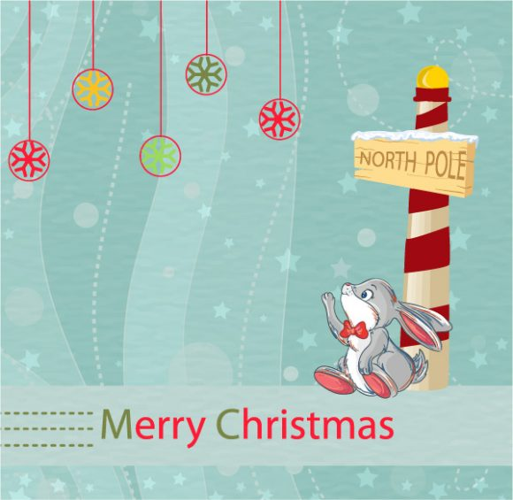 Smashing Vector Vector Design: Vector Design Christmas Greeting Card 5