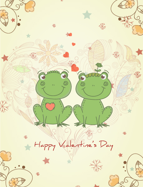 Amazing Day Vector Artwork: Valentines Day Vector Artwork Background 5