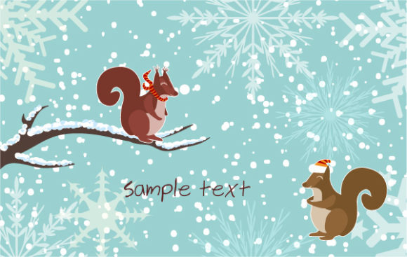 Greeting, Christmas Vector Artwork Vector Christmas Greeting Card 5