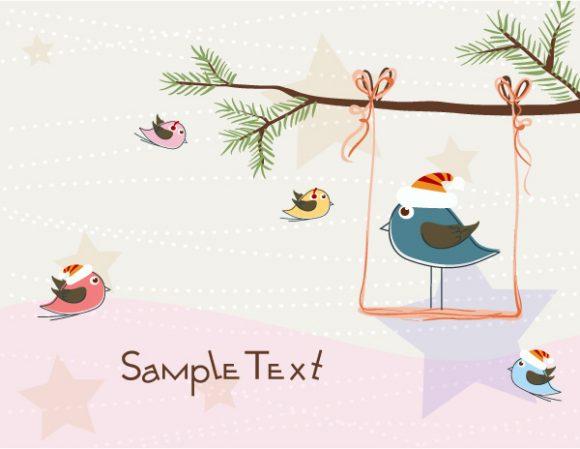 Vector Eps Vector: Eps Vector Christmas Greeting Card 18 11 2011 16