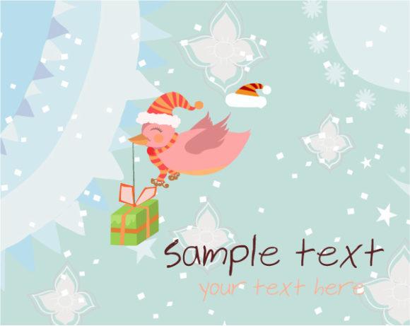 Christmas Vector: Vector Christmas Greeting Card 18 11 2011 21