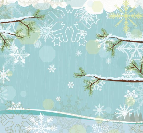 Vector Christmas Greeting Card 18 11 2011 22
