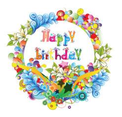 Happy Birthday Vector Illustration Vector Illustrations star
