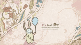 Vector Abstract Background With Cute Little Boy Vector Illustrations old