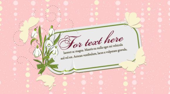 Illustration, Plant Vector Art Floral Frame Vector Illustration 5