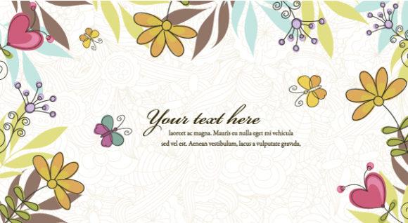 Illustration, Background Vector Artwork Floral Background Vector Illustration 1 11 2011 103