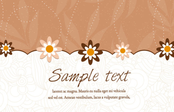 Floral, Flower Vector Graphic Floral Background Vector Illustration 1 11 2011 110