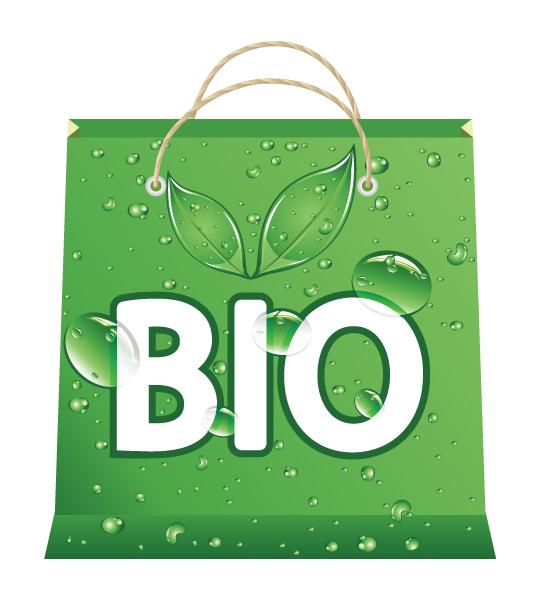Shopping Vector Background Vector Eco Shopping Bag 2009 02 18 108