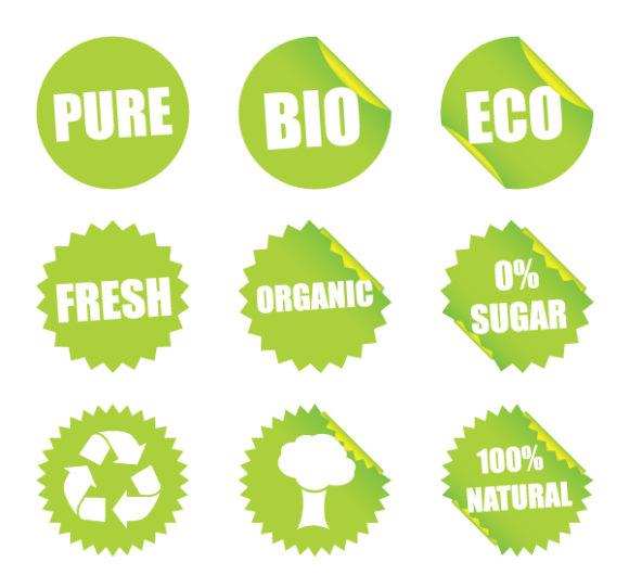 Buy Vector Eps Vector: Eps Vector Environmental Stickers 5