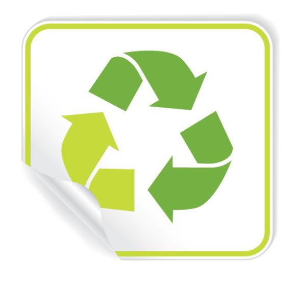 Tag, Environmental Vector Illustration Vector Environmental Sticker 2009 06 3 102