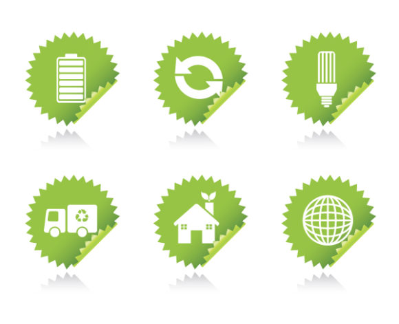 Sphere, Stickers Vector Illustration Vector Environmental Stickers 1