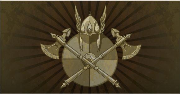 Bold Shield Vector Art: Vintage Shield On A Grunge Background 2010 04 23 1014
