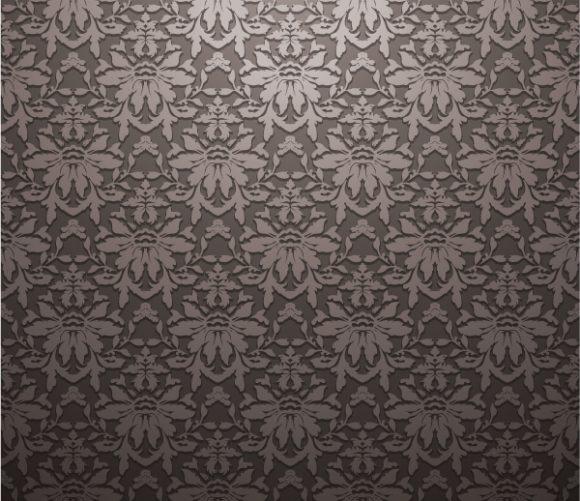 Download Illustration Vector: Damask Floral Background Vector Illustration 2010 04 25 1032