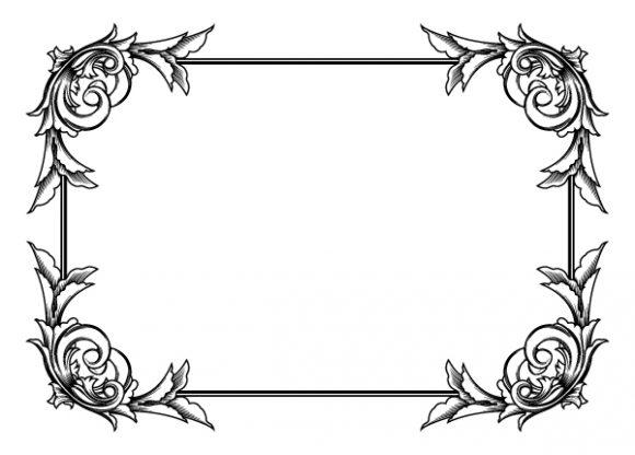 Frame Eps Vector Vintage Floral Frame Vector Illustration 2010 04 27 1023