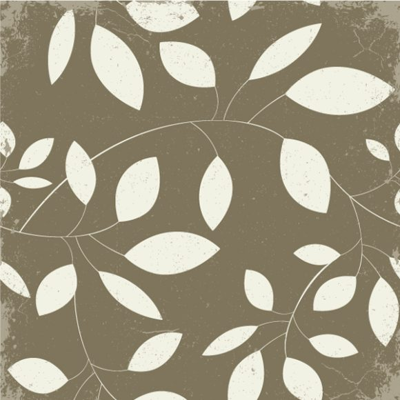 Floral Vector Art: Vintage Floral Background Vector Art Illustration 2010 04 27 103