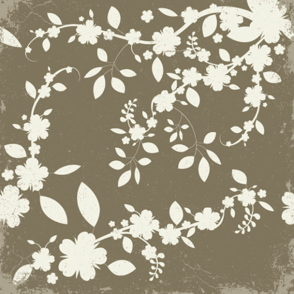 Vector Vector Artwork Vintage Floral Background Vector Illustration 2010 04 27 104