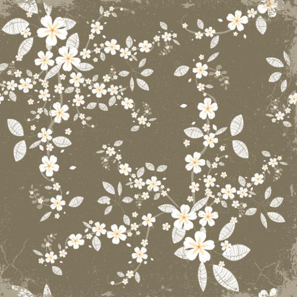 Insane Illustration Eps Vector: Vintage Floral Background Eps Vector Illustration 2010 04 27 105
