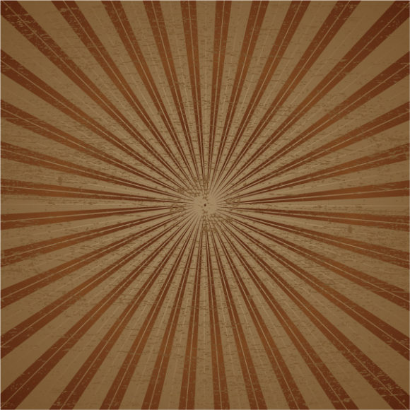 Astounding Vector Vector Artwork: Vintage Grunge Ray Vector Artwork Illustration 5