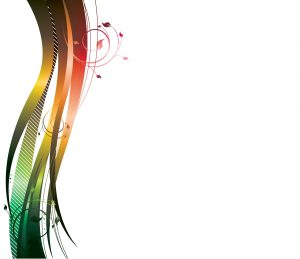 Vector Abstract Background With Wave Vector Illustrations wave