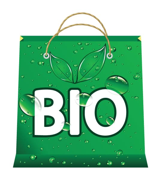 Insane Abstract-2 Vector Artwork: Bio Shopping Bag Vector Artwork Illustration 5