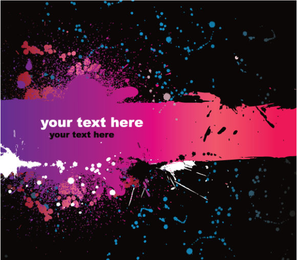 Text, Vector, With, Grunge, For Vector Image Vector Grunge Background With Space For Text 2010 06 18 10105