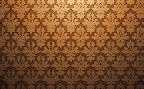 Baroque, Vector Vector Background Damask Web Banner Vector Illustration 1