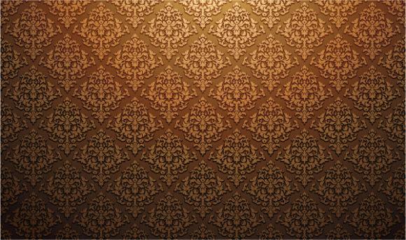 Web, Illustration, Damask Eps Vector Damask Web Banner Vector Illustration 1