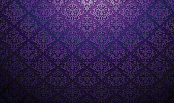 Leaf, Damask Vector Illustration Damask Web Banner Vector Illustration 2010 06 2 1024