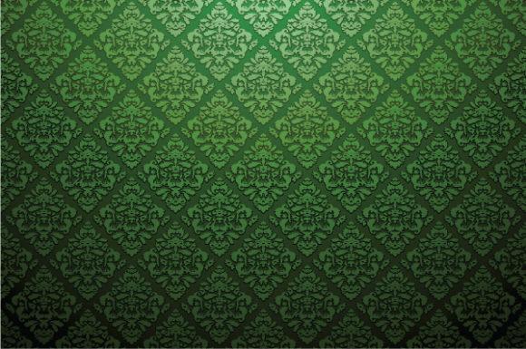 Baroque, Damask Vector Artwork Damask Web Banner Vector Illustration 2010 06 2 1028