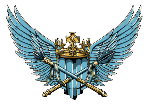 Vector Vintage Crest With Wings 2010 06 2 1029