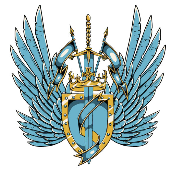 Vector Vintage Crest With Wings 2010 06 2 1030