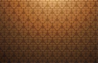 Damask Web Banner Vector Illustration Vector Illustrations floral