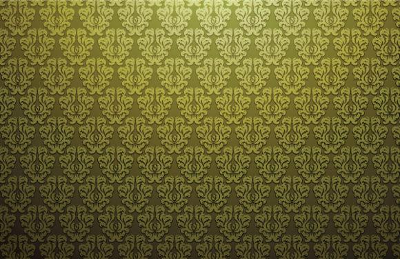 Damask, Web Vector Artwork Damask Web Banner Vector Illustration 1
