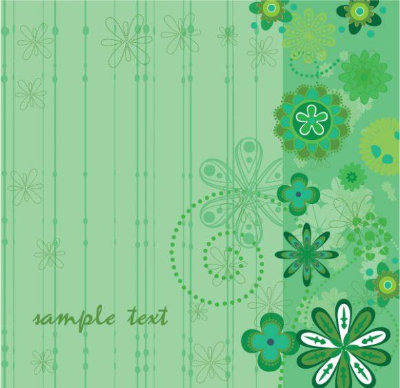 Illustration, Vector, Plant, Spring Vector Design Spring Floral Background Vector Illustration 1