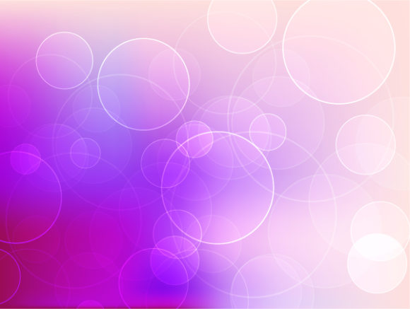 Abstract Background With Circles Vector Vector Illustrations vector