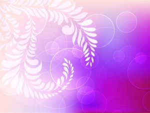 Abstract Background With Circles And Floral Vector Illustration Vector Illustrations floral