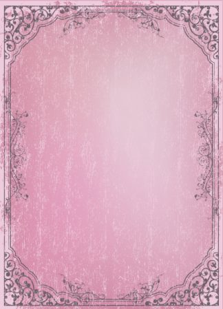 Vector Retro Grunge Frame With Floral Vector Illustrations old