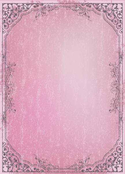 With, Floral-3, Frame, Grunge Vector Vector Retro Grunge Frame With Floral 2010 07 16 1096