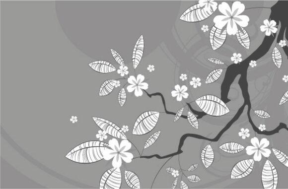 Download Spring Vector Design: Spring Floral Background Vector Design Illustration 2010 07 19 10129