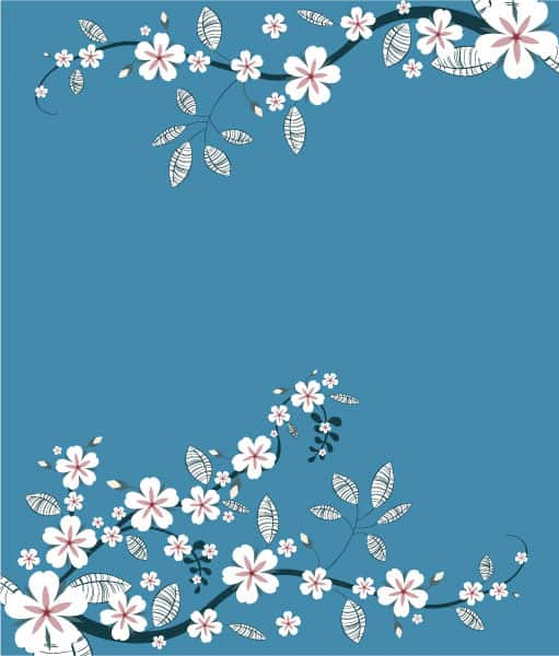 Awesome Abstract-2 Vector Image: Spring Floral Background Vector Image Illustration 2010 07 19 10134