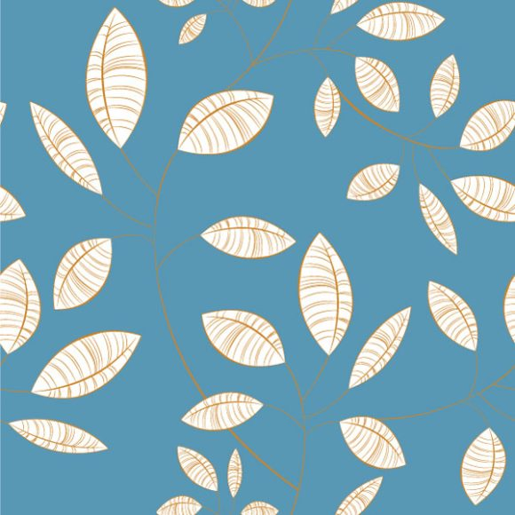 Exciting Background Vector Illustration: Seamless Floral Background Vector Illustration Illustration 5