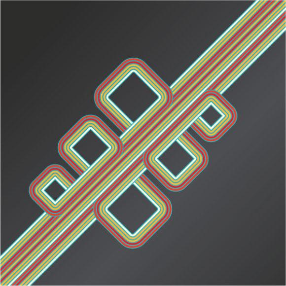 Special Creative Vector Graphic: Retro Background Vector Graphic Illustration 5