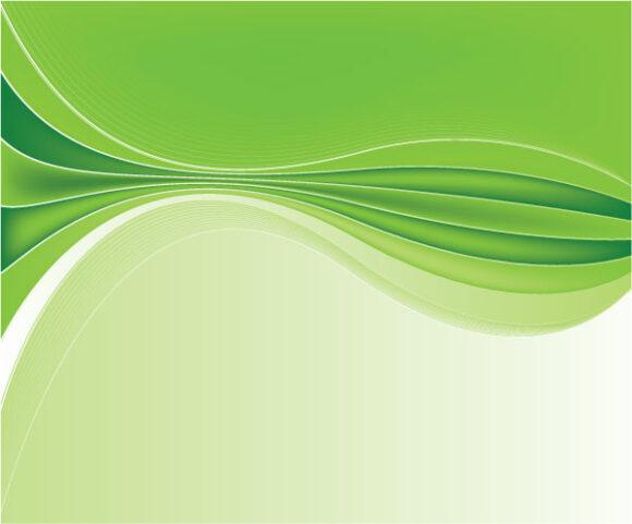 Buy Color Vector Artwork: Green Abstract Background Vector Artwork Illustration 1